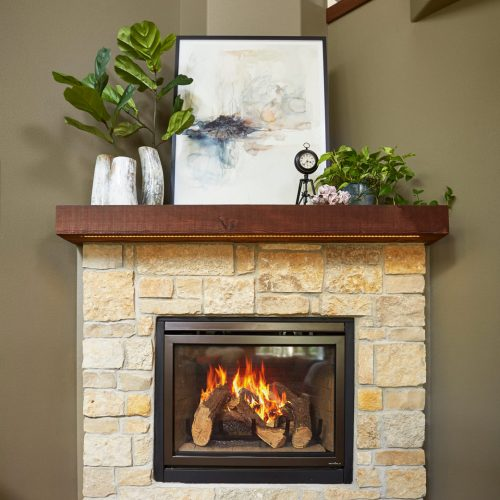 Sarah Helf Interior Design | Madison, WI | Custom Fireplace