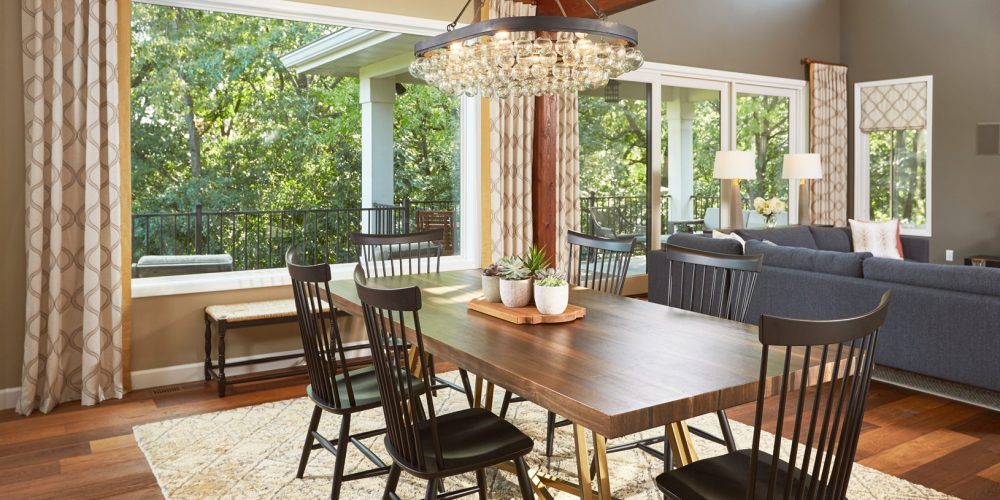 Sarah Helf Interior Design | Madison, WI | Middleton Custom Dining Room