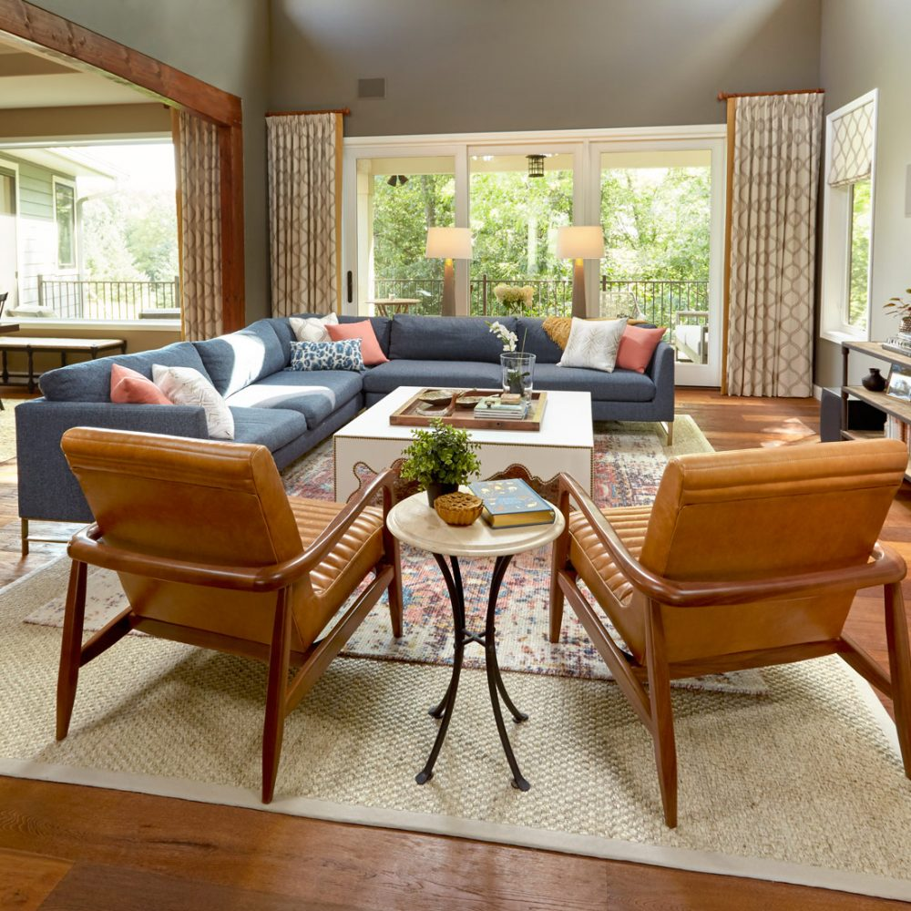 Sarah Helf Interior Design Middleton Living Room